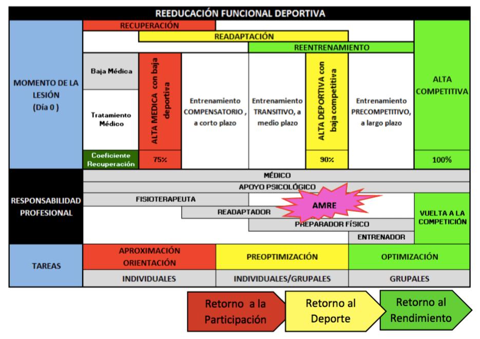 proceso reeducación funcional